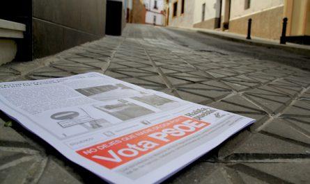 Panfleto PSOE Elecciones Europeas