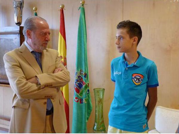 Antonio González en Diputación Taekwondo buena