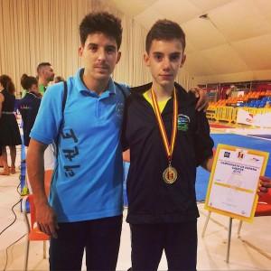 Antonio González y Juan Luis Acosta Taekwondo