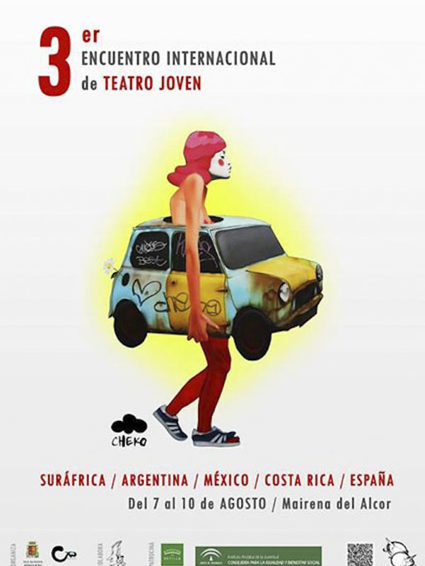 Cartel Encuentro Teatro Joven 2014