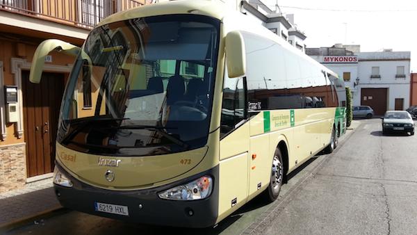 Nuevo bus 126_Frontal