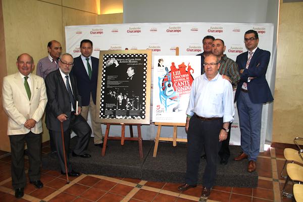 PRESENTACIÓN FESTIVAL CANTE Fundación Cruzcampo_600