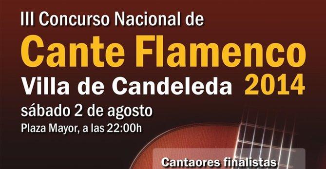 III Concurso Nacional de Cante Flamenco Villa de Candeleda