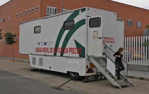 La unidad móvil detección precoz cáncer mama