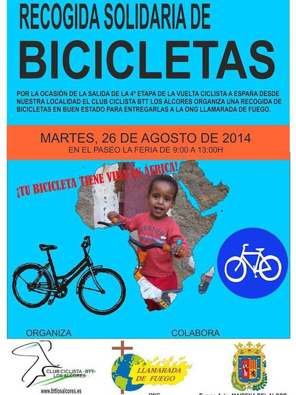 Recogida solidaria de bicis