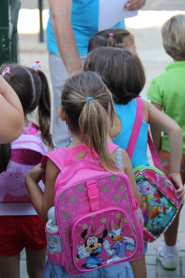 COMIENZO CURSO S_Bartolomé niños colegio