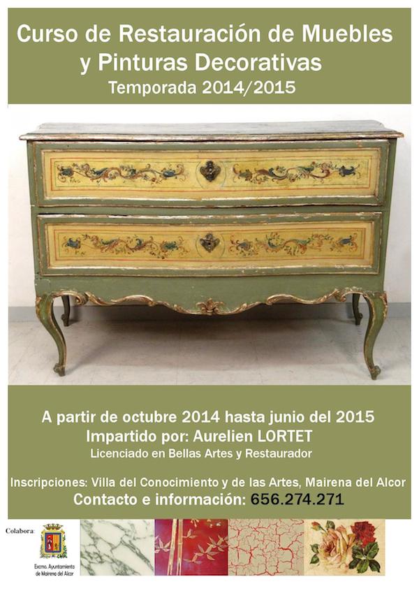 Curso de Restauración de Muebles y Pinturas Decorativas