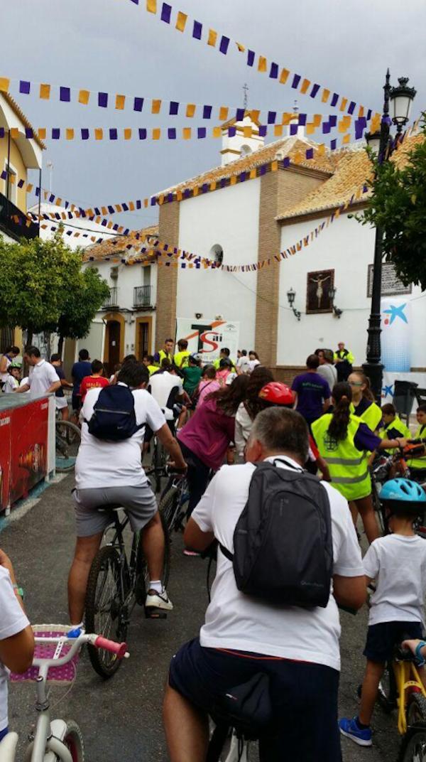 Marcha solidaria bici Hermandad de Jesús