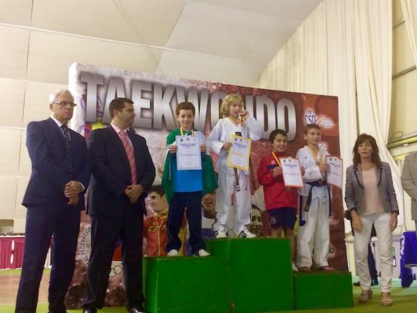 Rodrigo Portilla subcampeón de España de taekwondo