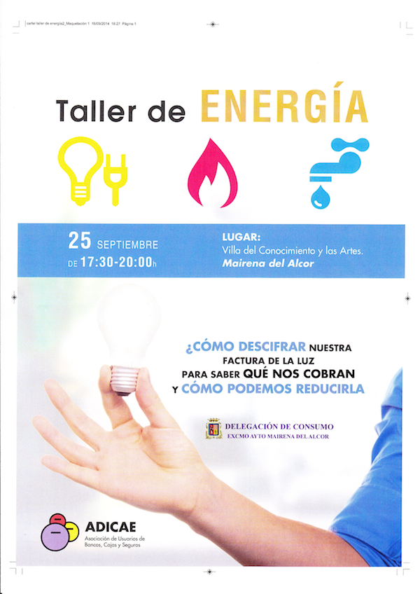 Taller Energía luz electricidad
