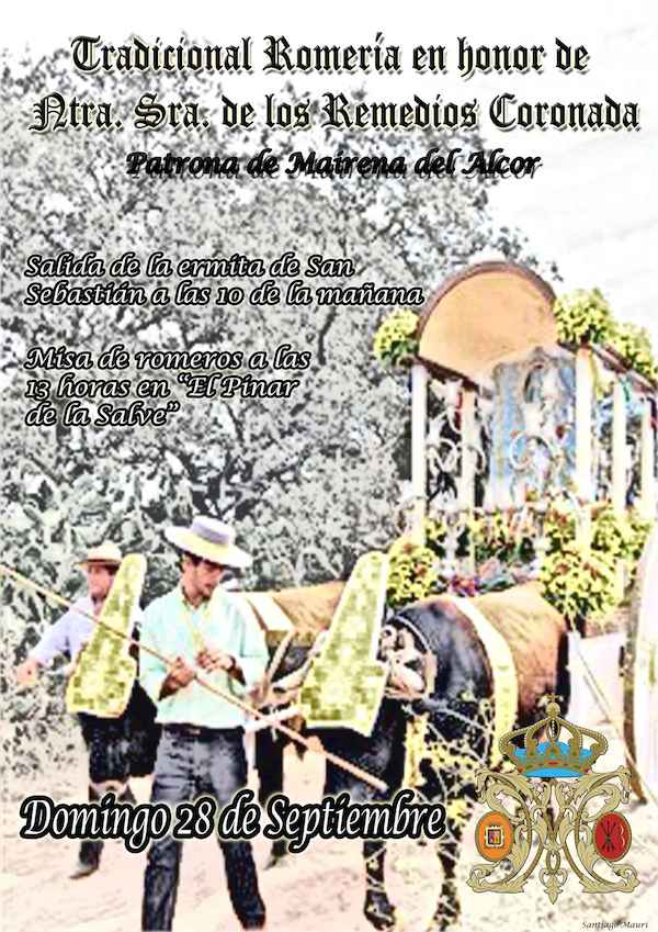 romeria 2014 Patrona Virgen Los Remedios