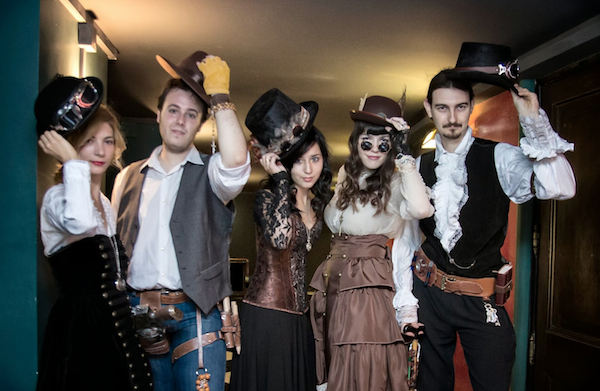 European Steampunk Convention Retrofuturismo participantes
