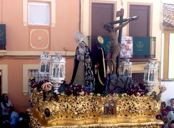 Peregrinación Veracruz Cádiz calle