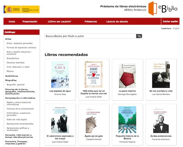 e-biblio web