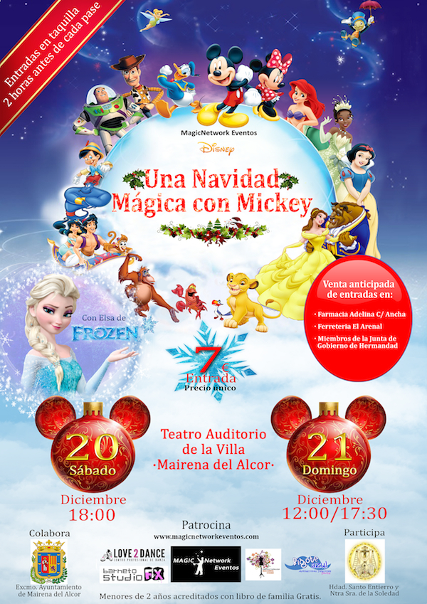 Teatro Disney 2014 Hermandad Soledad