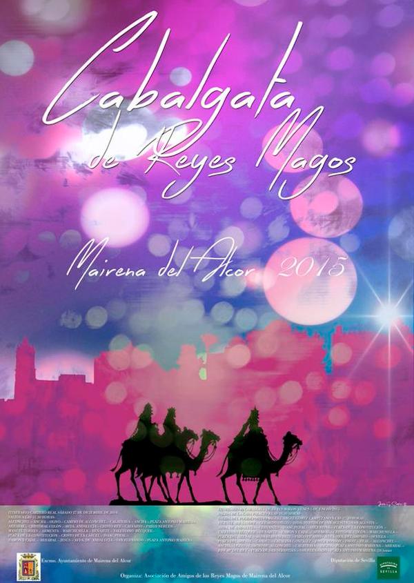 Cartel Cabalgata Reyes Magos 2015