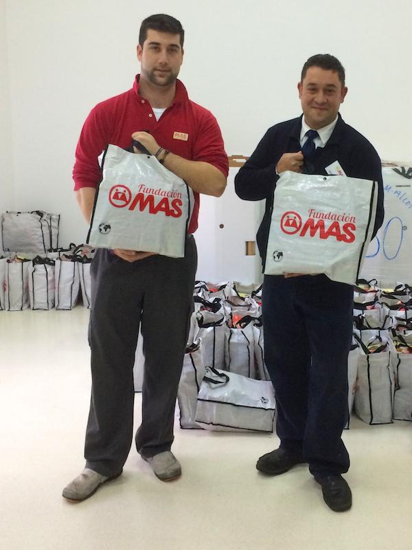 Cestas Navidad Fundación MAS