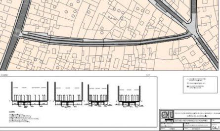 Proyecto obras calles Benardo y Rosario