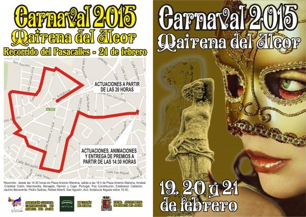El pasacalles saldrá a las 18 h. de Plaza Antonio Mairena y hará su llegada sobre las 19:30 en la Avenida Andalucía
