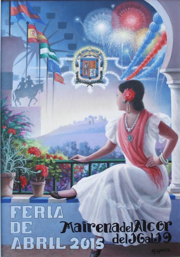 Cartel Feria Mairena del Alcor 2015