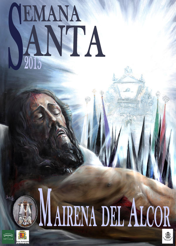 Cartel Semana Santa  Mairena del Alcor 2015