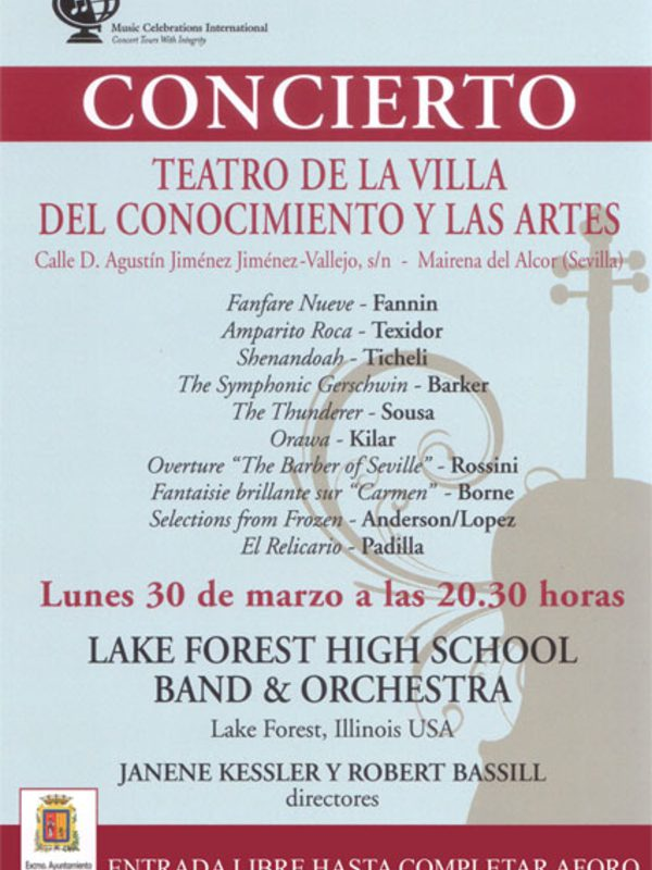 Cartel concierto sinfonico 2015