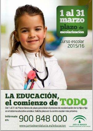 Escolarización curso 2015/16