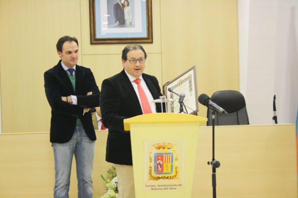Premio a Innovación y Empresa, IV Edición Mairenero del Año 2014