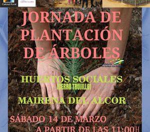 Cartel Jornada Plantación