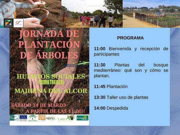 Díptico Jornada Plantación