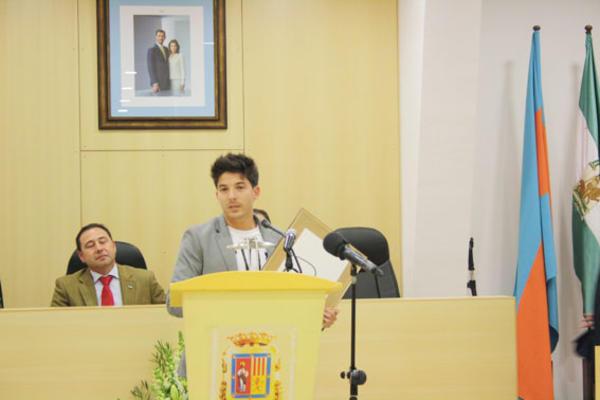 El Club Taekwondo en la categoría Deportes lo recibió su presidente, Juan Luis Acosta de su tía y delegada de Servicios Sociales e Igualdad, Patricia Marín