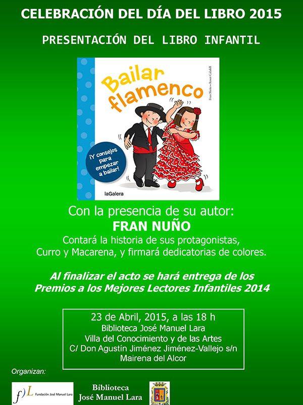 Cartel Bailar Flamenco Mairena del Alcor abril 2015(1)