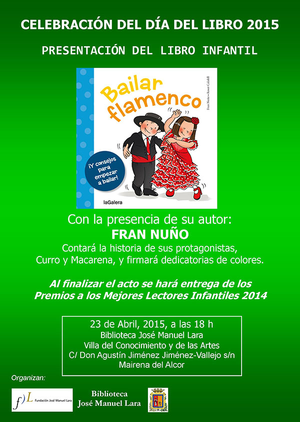 Cartel Bailar Flamenco Mairena del Alcor abril 2015(1)