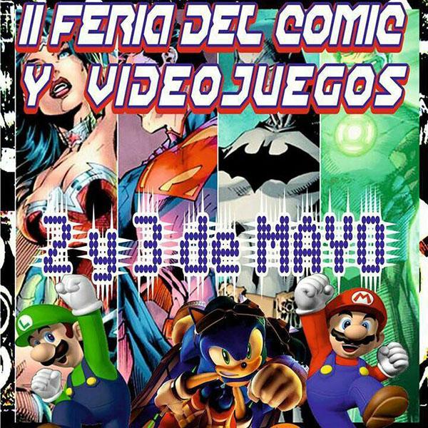 II feria del cómic y videojuegos