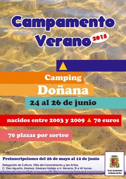 CartelCampamentoVerano2015DoxanaI