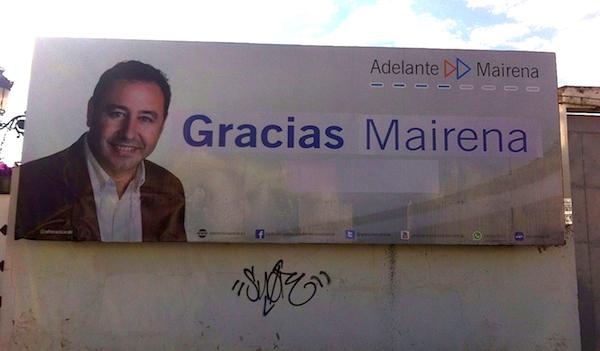 Gracias Mairena valla Adelante Mairena