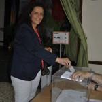 Rocío_Votando