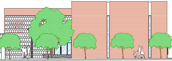 El acceso independiente permite el uso conjunto o diferenciado de tanatorio y cementerio.