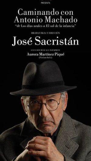 A la venta las entradas para la obra 'Caminando con Antonio Machado' protagonizada por José Sacristán