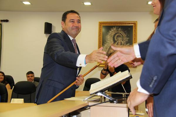 Ricardo Sánchez, reelegido alcalde de Mairena hasta 2019