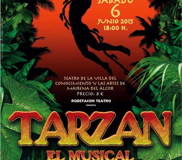 'Tarzán, El Musical', este sábado en el Teatro Municipal