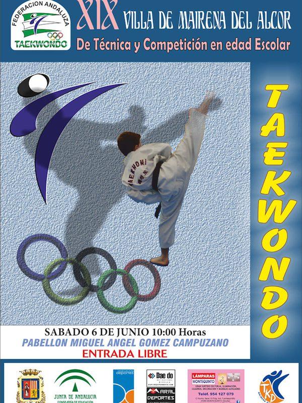 trofeo taekwondo Villa Mairena del Alcor 2015