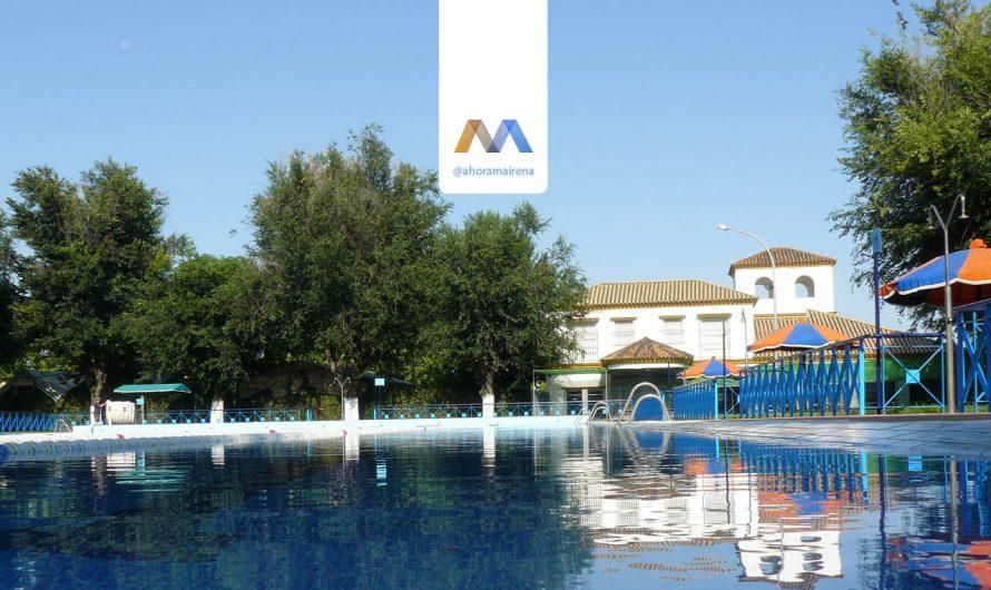 Cursos de natación en la piscina de verano