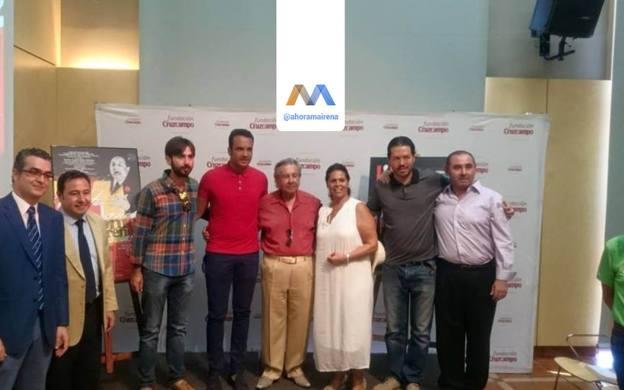Presentación del Festival de Cante Jondo Antonio Mairena en su LIV Edición