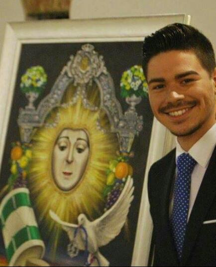 david-gómez-autor-cartel-anunciador-fiestas-patronales-2015-ahora-mairena-del-alcor