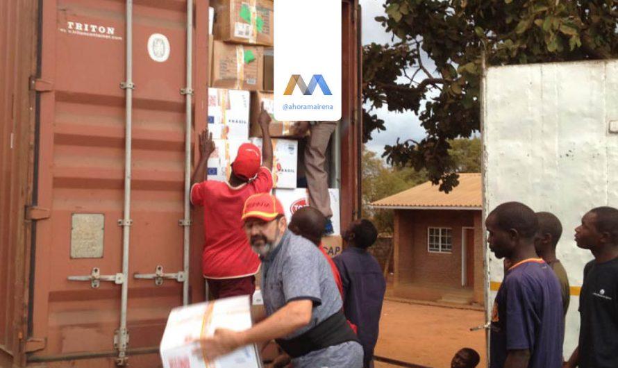Llegada a Malawi de un nuevo contenedor de Llamarada de Fuego