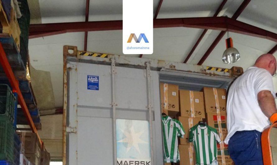 Segundo contenedor enviado a Malawi en 2015 por parte de Llamarada de Fuego