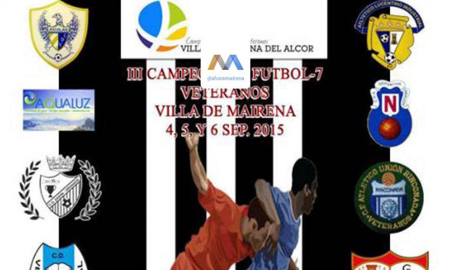 III Campeonato de Veteranos de Mairena del Alcor