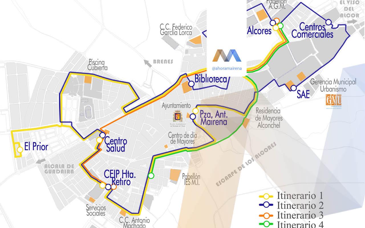 Ampliación del servicio de autobús urbano para facilitar el transporte de los estudiantes