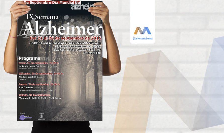 IX Semana del Alzheimer AFAMA